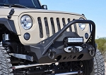 Artec Industries Nighthawk JK Front Bumper with Mid Tube Stinger