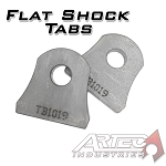 Artec Industries Flat Shock Tabs (pair)