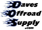 Daves Offroad Supply $100 Gift Certificate