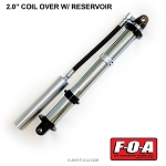 FOA 2.0 Coil Over Shock with Reservoir