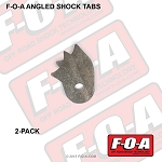 Angled Shock Tab, 2-pack