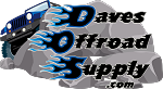 Daves Offroad Supply Sticker - 7