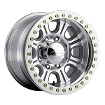 Raceline RT233 - Polished Monster - 17x9.5