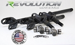 Revolution Gear & Axle 07-15 JK Sahara & X Model US Made D30 Front Axle Kit 27 Spline