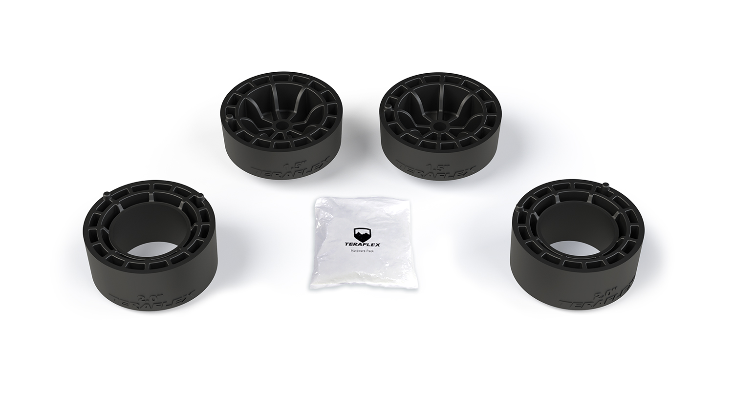 TeraFlex Jeep JL 2 Door 1.5 Inch Performance Spacer Lift Kit No Shocks