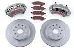 TeraFlex JK Front Big Brake Kit with Slotted Rotors