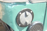 Iron Rock Off Road TJ Fuel Door - Billet / Flush Mount