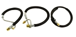 PSC Motorsports Complete Power Steering Hose Kit for 1997-2002 Dodge Cummins