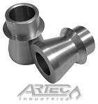 Artec Industries WIDE 3/4 in High Misalignment Spacers SS (pair), 9/16