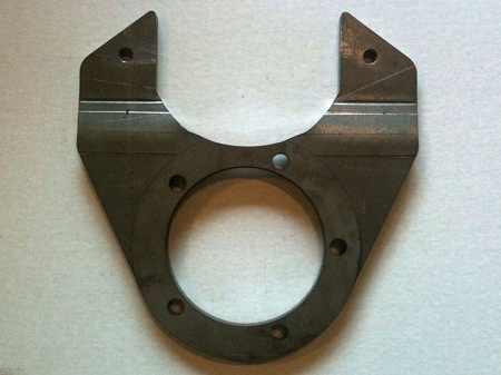 TMR Customs Ford Dana 60 Front Disc Brake Brackets for 1/2 or 3/4 Ton Chevy Brakes
