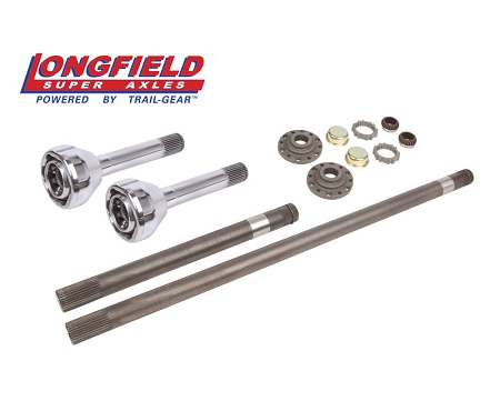 Longfield 30 Spline Birfield/Axle Super Set (+5 Pickup/4Runner) Gun Drilled