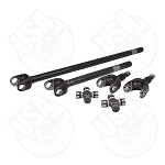 USA Standard 4340 4340 Chromoly Axle Kit for JK Non-Rubicon with Spicer Joints
