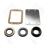Yukon Disconnect Block-Off Kit (includes seals and plate), Dana 30