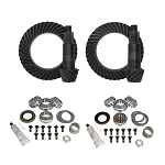 Yukon Gear & Install Kit Package, Jeep JL and JT Jeep Rubicon, D44 Front & D44 Rear