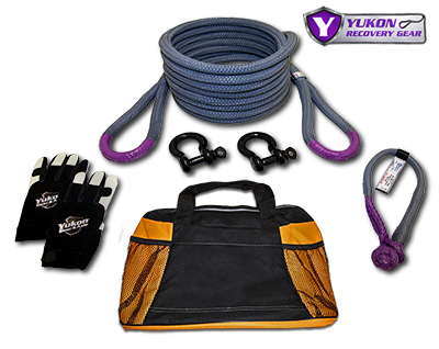 Yukon Recovery Gear Kit with 7/8