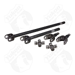Yukon 4340 Chrome-Moly Axle Kit, '07-'17 Dana 30 Front, Non-Rubicon JK, With Yukon Spicer Joints