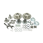 Yukon Spin Free Locking Hub Conversion Kit, Dana 30 TJ, XJ, YJ, 27 Spline, 5 x 4.5