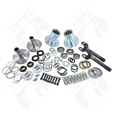 Yukon Spin Free Locking Hub Conversion Kit, Dana 30 TJ, XJ, YJ, 30 Spline, 5 x 5.5