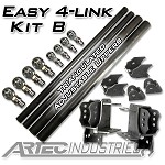 Artec Easy 4 Link - Kit B - Triangulated Adjustable Uppers