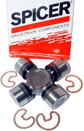 Dana Spicer 1310 Series U-Joint, Non Greasable