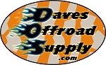 Payment to Daves Offroad Supply