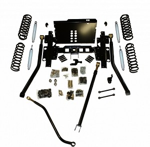 "Iron Rock Offroad TJ 4"" Critical Path Long Arm Kit"