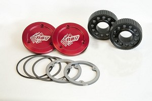 RCV Dana 30 & 44 Drive Flange Set for Traditional Spindle