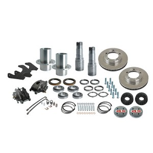 Solid Axle Industries 6 on 5.5 Rear End Kit for D60