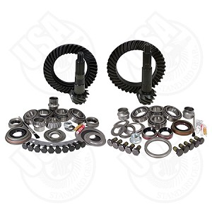 USA Standard Gear & Install Kit Package, Jeep TJ, Dana 30 Front/Dana 44 Rear, 4.56 Ratio