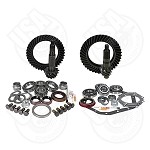USA Standard Gear & Install Kit Package, Reverse Rotation Dana 60 Front/'88 & Down GM 14T Rear, 5.13 Ratio Thick