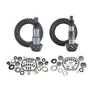 Yukon Gear & Install Kit Package, Jeep JK Rubicon, 4.88 Ratio
