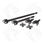 Yukon 4340 Chrome-Moly Front Axle Kit, '77-'91 GM Dana 60, 35 Spline