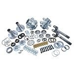 Daves Offroad Supply Spin Free Locking Hub Conversion Kit for Dana 60 & AAM, 00-08 DRW Dodge