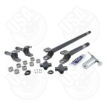 Yukon 4340 Chrome-Moly Axle Kit for '07-'17 Dana 30 Front, Non-Rubicon JK, with Yukon SuperJoints